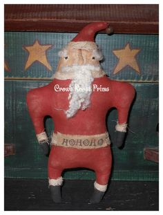 Oh My Stars!  I'm Seeing Red, and Santas! by Christi Hocking on Etsy