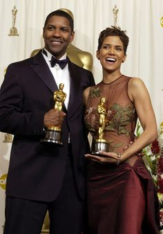 Two gorgeous people (inside and out) - Denzel Washington and Halle Berry