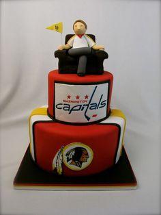 e9128be3016 Fan Shop | Amazon.com: NHL, NFL, NBA & MLB. Redskins CakeWashington ...