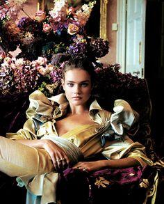 "Natalia Vodianova by Patrick Demarchelier for Vanity Fair Janurary 2005 ""A Fashion Fairy Tale"""