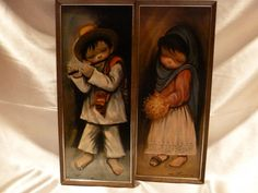I own this pair! Love them!Vintage Pictures Ozz Franco Prints 1960's Set of 2