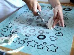 How to make a cloth sugar paste