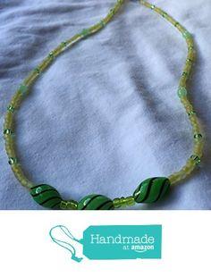 Dark and Light Greens Glass Beaded Necklace 23 Inch https://www.amazon.com/dp/B01MYULXZH/ref=hnd_sw_r_pi_dp_zJiqybTYBG50W #handmadeatamazon