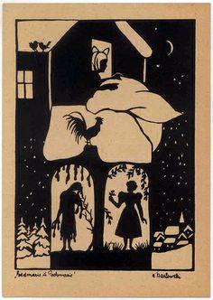 German Fairy Tale postcard