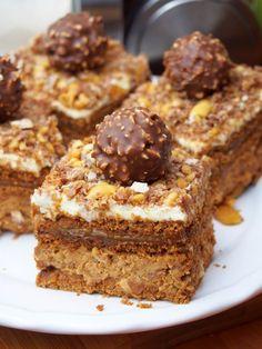 Cake nature fast and easy - Clean Eating Snacks Dessert Cake Recipes, Sweet Desserts, Dessert Bars, No Bake Desserts, Cupcake Recipes, Sweet Recipes, Savoury Cake, How Sweet Eats, Ferrero Rocher