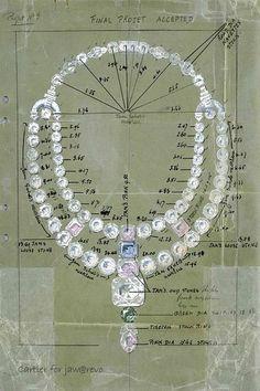 Vintage - Esquisses et Croquis - Bijoux - Cartier