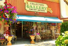 Antique store front by Droelle, via Flickr