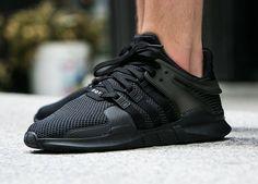 Adidas Equipment Support ADV - Triple Black (by worldbox)