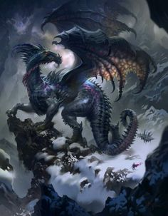 How dragons should be. Four legs AND two wings. Not two legs and two mutant wing arm train wrecks.