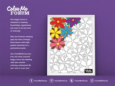 A flowery page for you to experiment with! Great for shading!Like this page? Want to see more? Please support us on Patreon!https://www.patreon.com/ColorMeForum