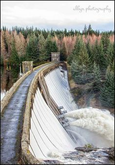 Laggan Dam in full flow, Scotland Water Dam, Hydroelectric Power, Panama Canal, Civil Engineering, Amazing Architecture, Lighthouses, Milan, Waterfall, Facebook
