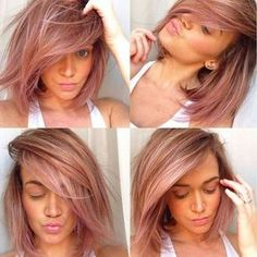 73 best Frisur images on Pinterest   Hair ideas  Colourful hair and     18 Shades of Hair Colorful Hair Show