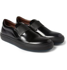 b614391aa9d2 Acne Hans Rubber-Sole Leather Loafers-Ultimate Kitchen Shoes Kitchen Shoes