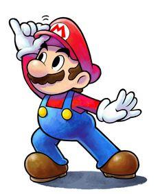 Mario - Mario & Luigi: Paper Jam Bros