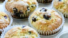 Blueberries are best straight from the bush, but a blueberry muffin fresh from the oven is nothing to sneeze at. However, blueberries can sometimes sink to the bottom of the soggy muffin, along with your dreams. The solution is simple.