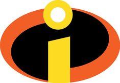 Disney Incredibles Logo Iron On Incredibles Costume Diy, Incredibles Logo, Incredibles Birthday Party, Superhero Classroom, Superhero Logos, Classroom Themes, 2 Logo, Super Hero Costumes, Disney Shirts