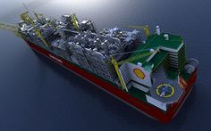 Shell builds floating oil refinery that weighs six times as much as an aircraft carrier