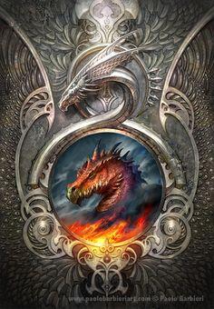 Dragon's Gate - Paolo Barbieri Art