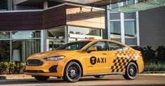 Ford tries to make yellow cabs a little greener with hybrid, diesel powertrains