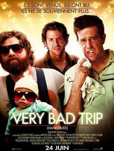 Very Bad Trip 1, 2 et 3, Todd Phillips, 2009, 2011 et 2013