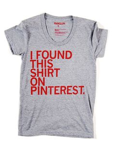 @raygunshirts is now a pinterest-lebrity