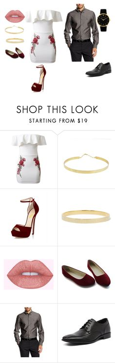 """""""xoxo"""" by ximena-l ❤ liked on Polyvore featuring WithChic, Lana, Marc by Marc Jacobs, Versace 19•69, Julius Marlow and Larsson & Jennings"""