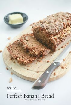 The Freckled Fox: Simple, Perfect Banana Bread