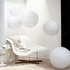 Weiß Wohnzimmer Beleuchtung Wohnideen Living Ideas Interiors Decoration