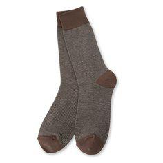 [series] Natural Stripe Socks