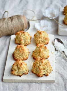 Coconut Macaroons | The Smoothie Lover