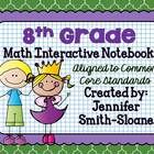 This Bundle contains lessons for an Interactive Notebook for 8th Grade Math for each of the Common Core Standards.  this unit not only provides the...