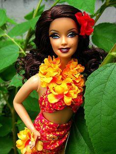Hula Honey--- Barbie™ Collector