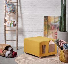 Trenger du en ekstra soveplass? Sjekk disse geniale puffene i vår nettbutikk. Modell KOS☺️ www.mirame. Lett og rask å slå ut og sette sammen. #puff #seng #sove #gjesteseng #litenplass #sovepuff #oppbevaring #møbel #interior #interiør #interiordesign #vakrehjem #småhjem #design  #nordiskehjem #norskehjem #nettbutikk #mirame #innredning #nyhet #smarteløsninger #interiørbutikk #kos