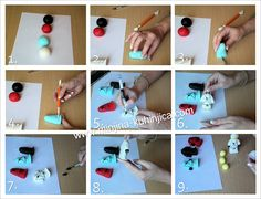 How to Make a Gumpaste Lego Ninja By MinjaB on CakeCentral.com