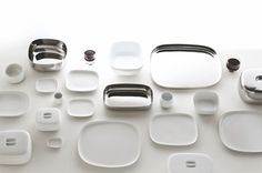 Ovale line of tableware from Ronan and Erwan Bouroullec for Alessi