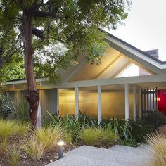 Mid Century Modern Ranch Style House Design, Pictures, Remodel, Decor and Ideas