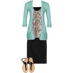 Simple but springy!, created by kahall53199 on Polyvore