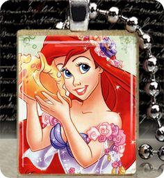 Art Pendant charm Ariel PENDANT Ariel by iloverocks, $7.95