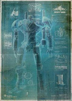 Coyote Tango (Japan) Jaeger blueprint ||