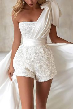 Wedding Reception Outfit, Wedding Dresses, Wedding Rompers, Wedding Dress Shorts, Short Reception Dresses, Cute Party Dresses, Sexy Reception Dress, Wedding Night Dress, Dress Night