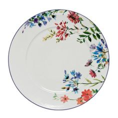 Meadow Plate, Marks and Spencer Painted Ceramic Plates, Ceramic Spoons, Ceramic Clay, Ceramic Painting, Decorative Plates, Pottery Plates, Ceramic Pottery, Pottery Painting Designs, Pottery Sculpture