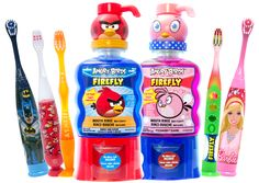 #FireflyToothbrush family of products.