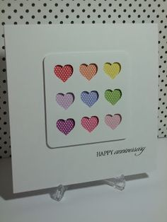diy anniversary cards - Google Search