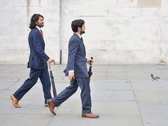 Synchronised Suits by jaykay72, via Flickr