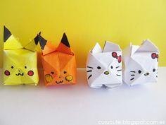 curucute: Aprendiendo de todo un poco: Origami