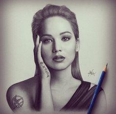 Jennifer Lawrence- Inspiration to be you.