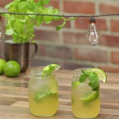 Whiskey Ginger Mojito