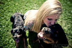 Picture with dogs