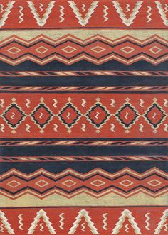 LW8B, red/blue –Southwestern rugs, Luxury Lodge comes to life in this imaginative collection. Traditions of the past meet modern needs for quality, beauty and comfort in these unique and timeless designs inspired by Native American motifs from the American Southwest. Soft pile weave replaces the traditional flat weave of typical Navajo-inspired carpets, resulting in luxuriously soft, superior quality hand-woven rugs.