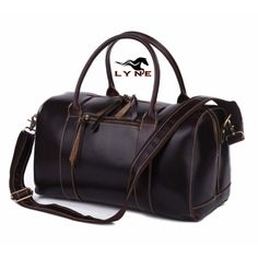 870ab4e642 Travel Luggage Bag chocolate. The newest Australia Travel Leather bag from  Lyne Leather collections.